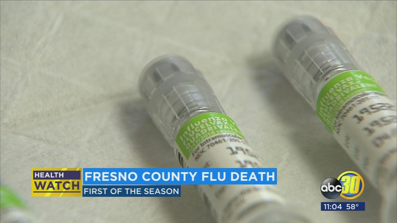 Fresno County resident dies from the flu, health department says