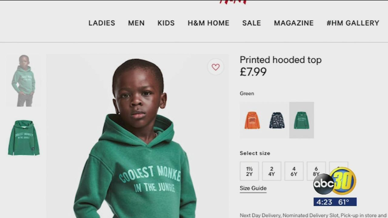 H&M apologizes for online advertisment
