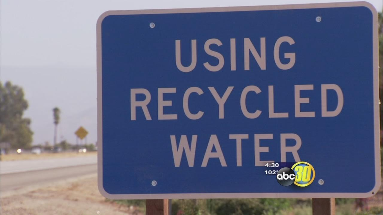 Recycled water heading for Highway 168