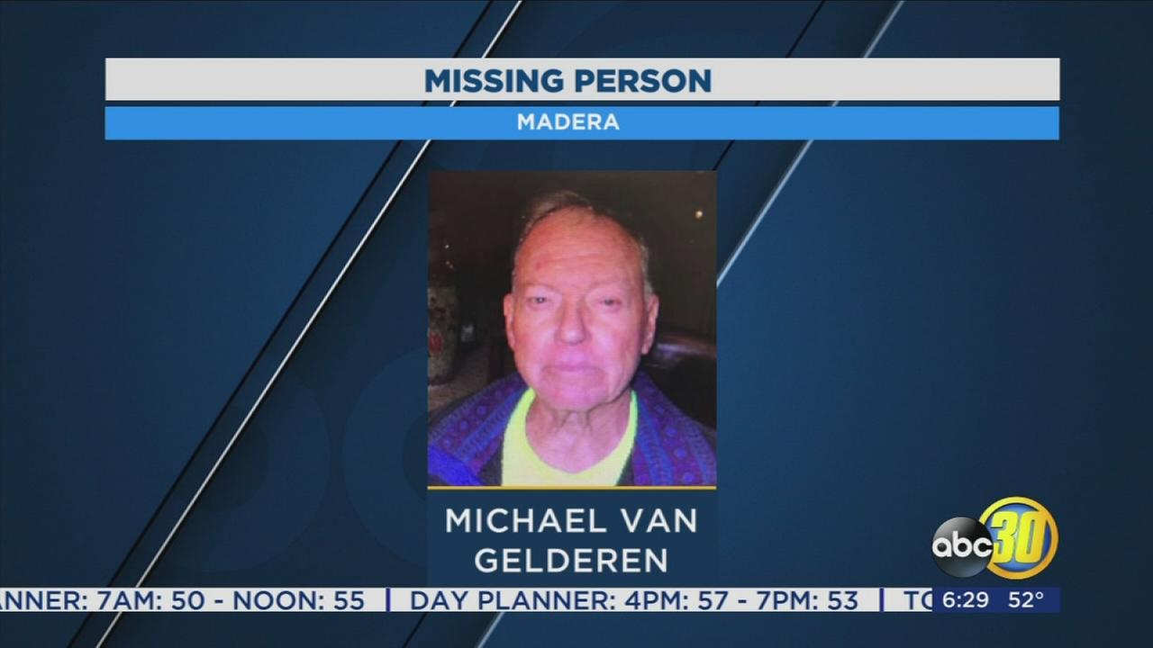 Madera Police asking for the publics help finding missing 80-year-old man