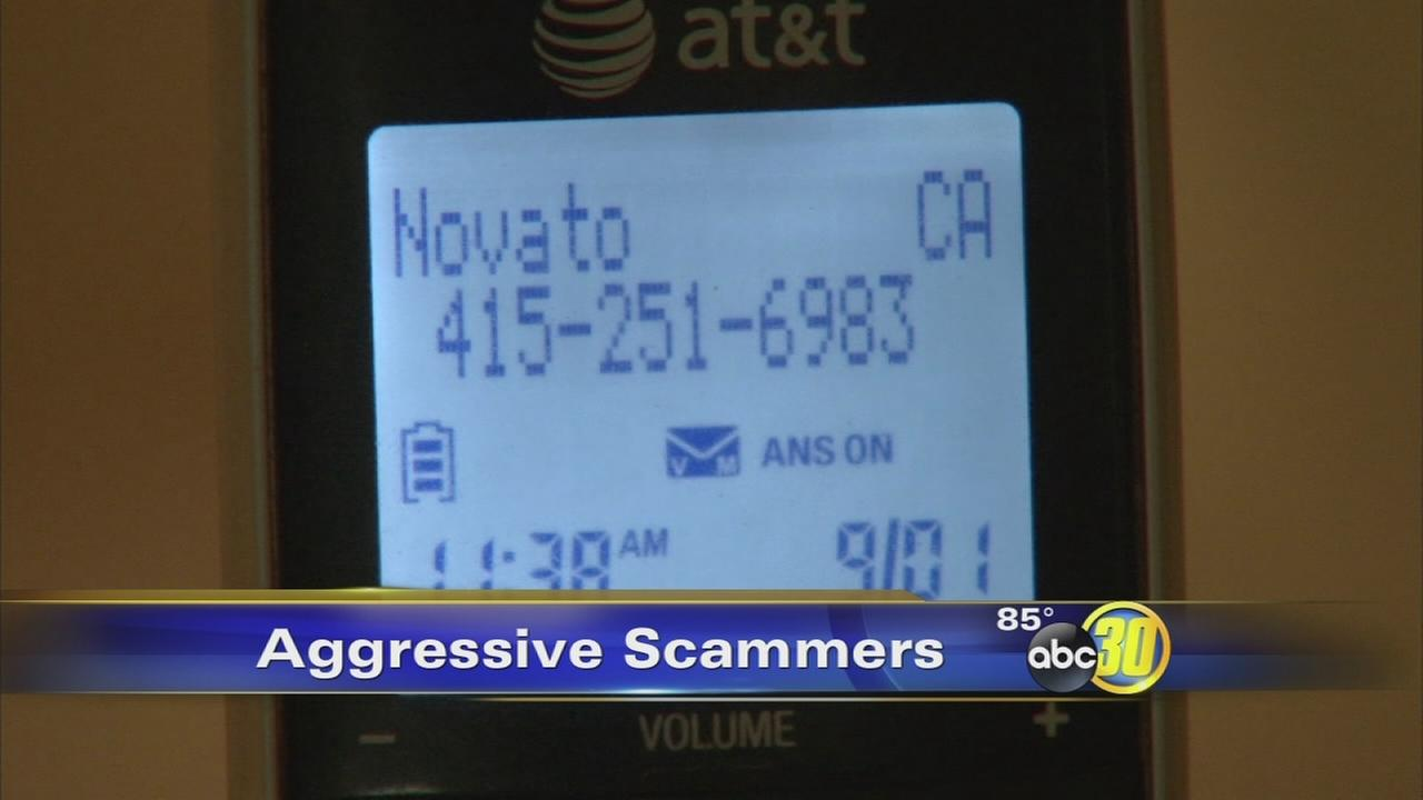Scammers become aggressive acting as IRS