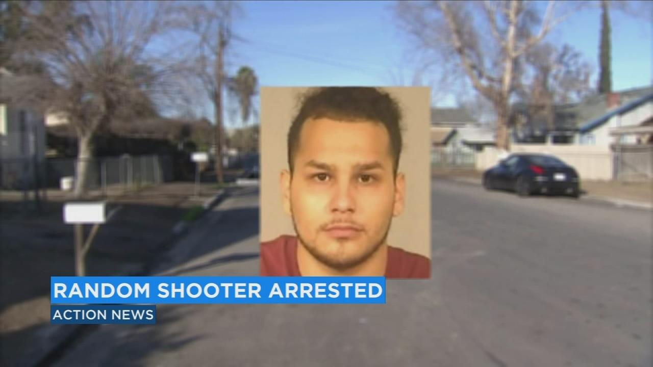 Fresno man arrested after burglarizing home and firing shots at random houses and cars