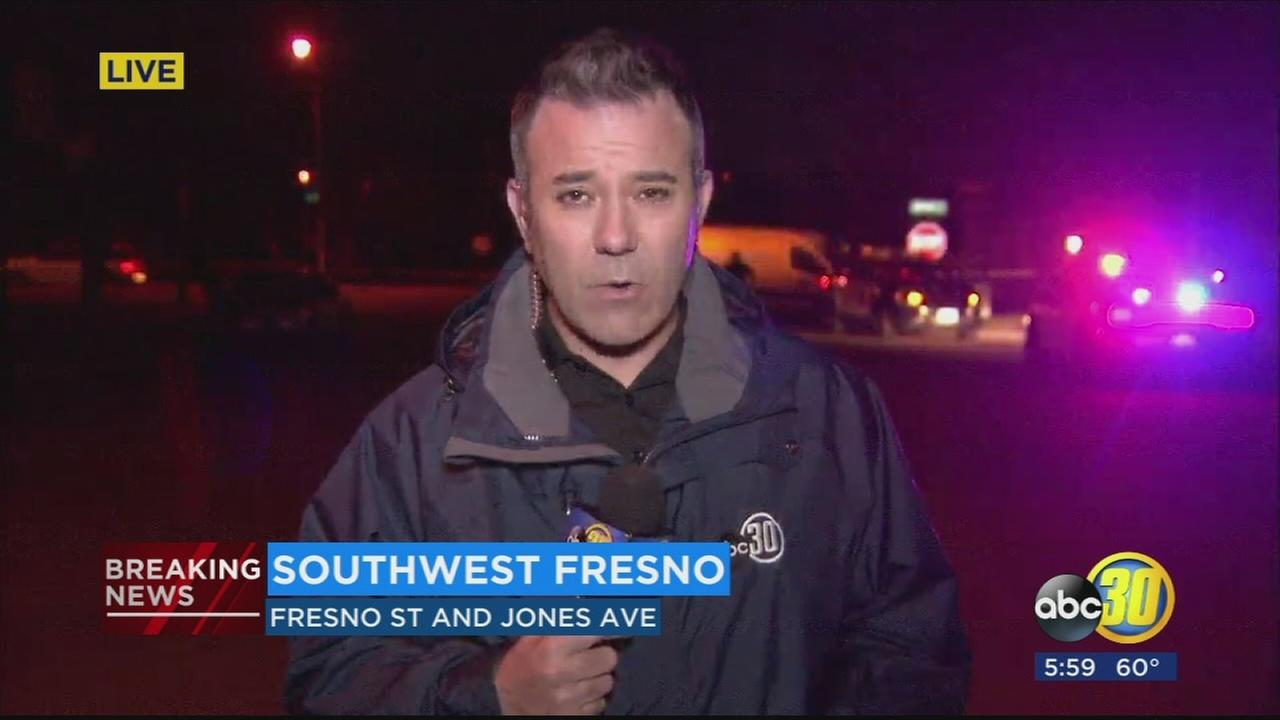 Fresno Police are investigating a shooting in Southwest Fresno