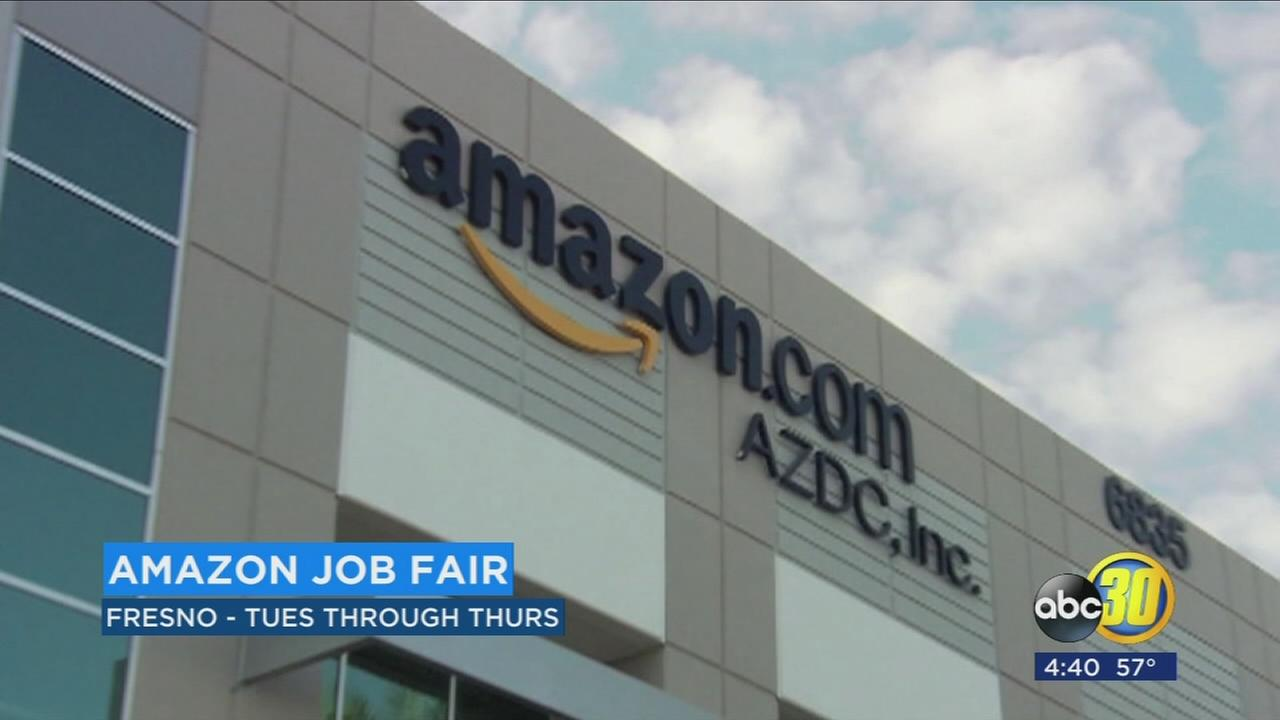 Amazon hiring ahead of fulfillment center opening