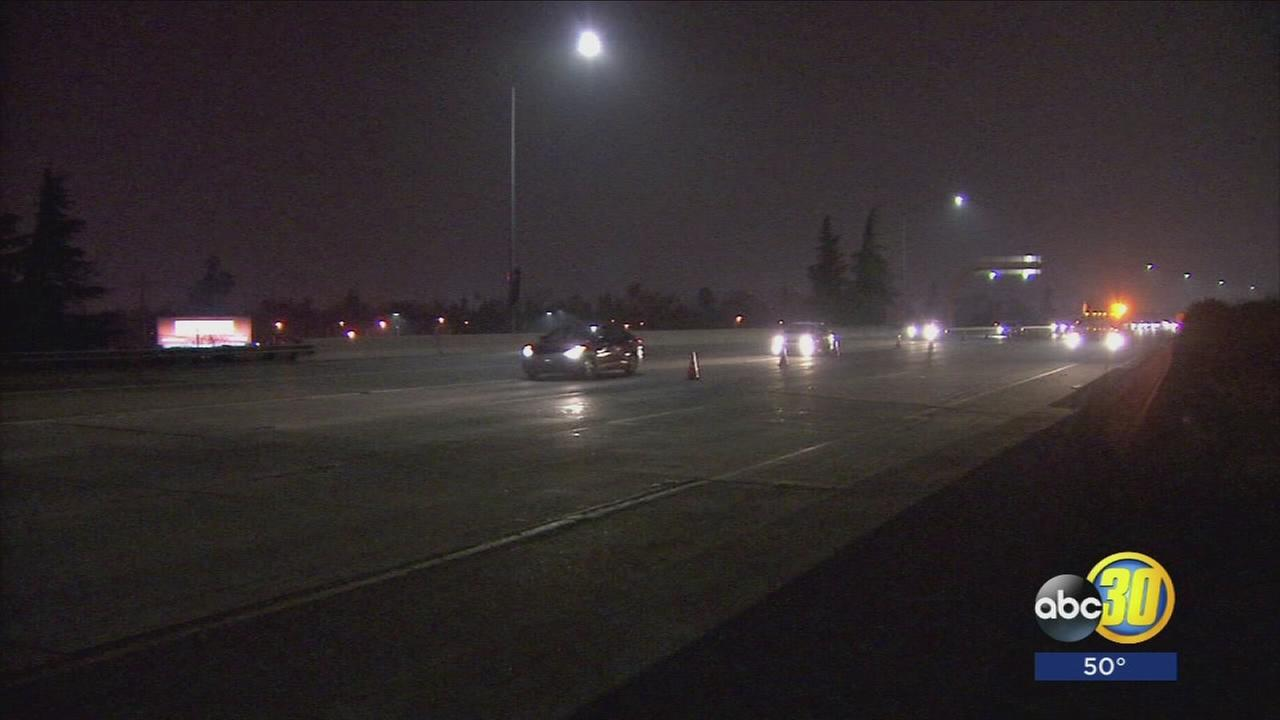 Man dies after walking onto HWY 180 on ramp