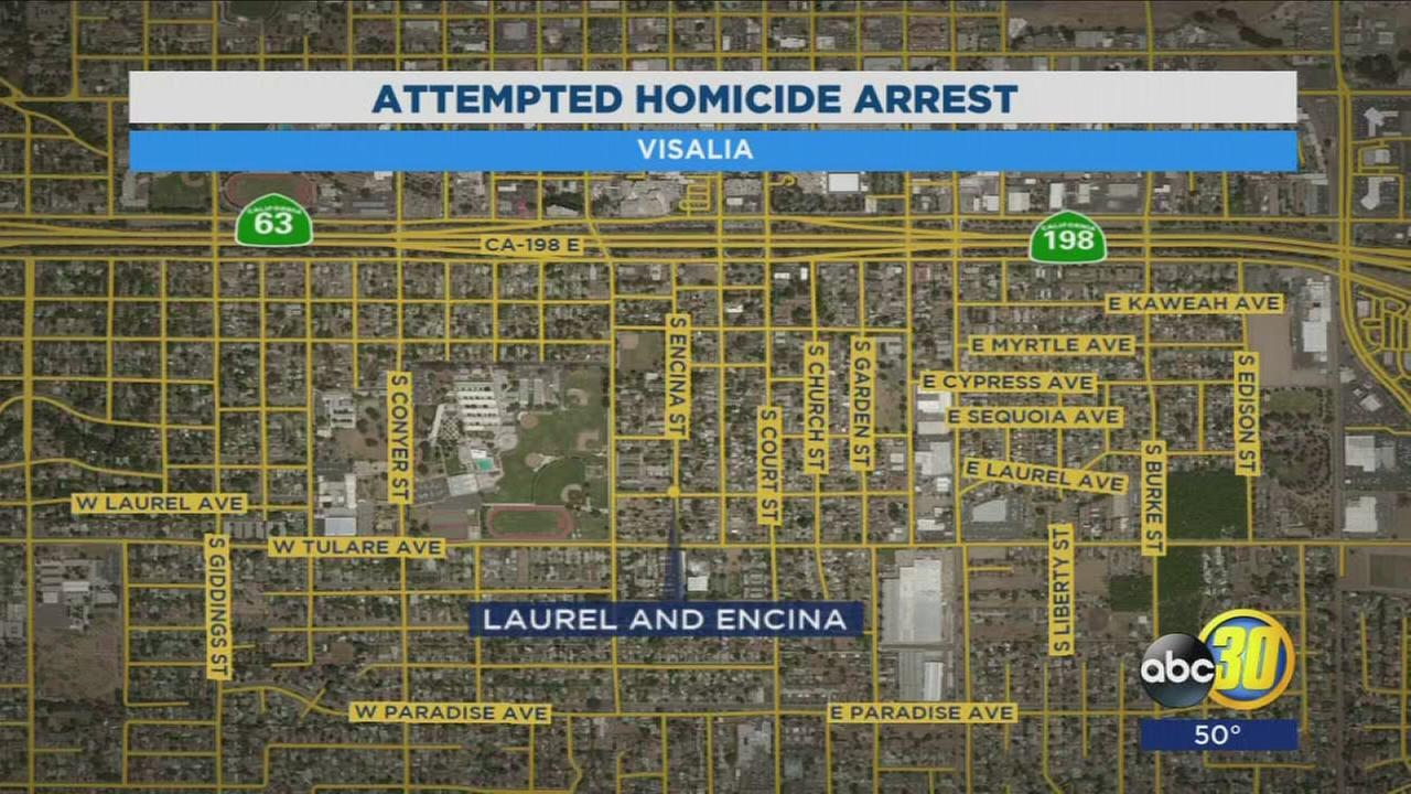 Man hospitalized after being stabbed in Visalia