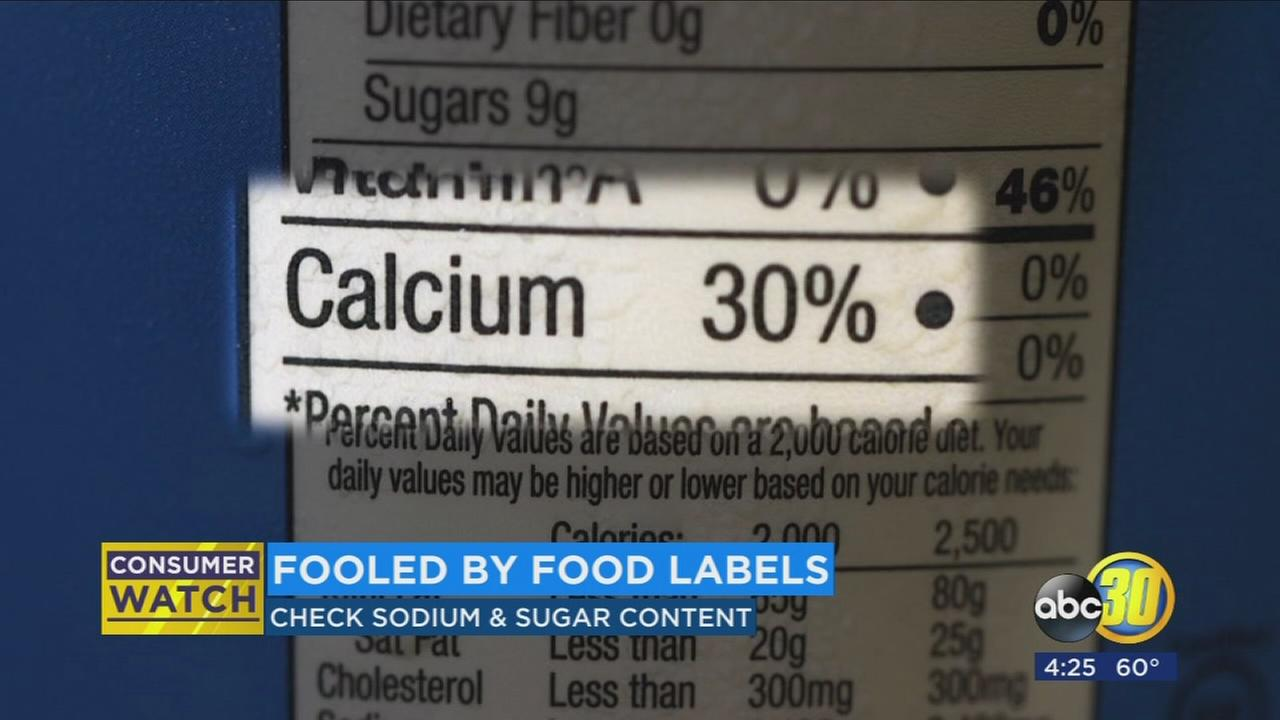 Avoid being fooled by food labels