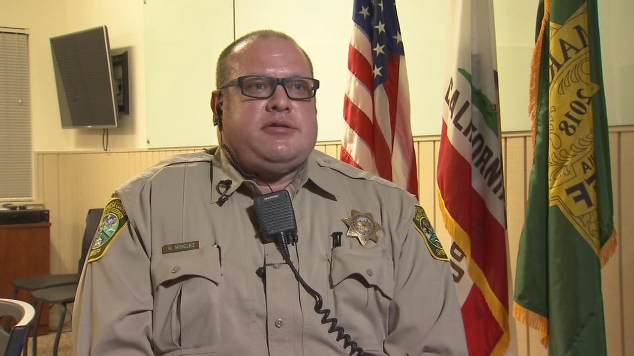 Mariposa County Sheriffs deputy returns to work after being shot in the line of duty