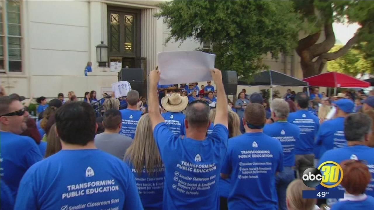 Fresno Teachers Association and Fresno Unified reach tentative agreement
