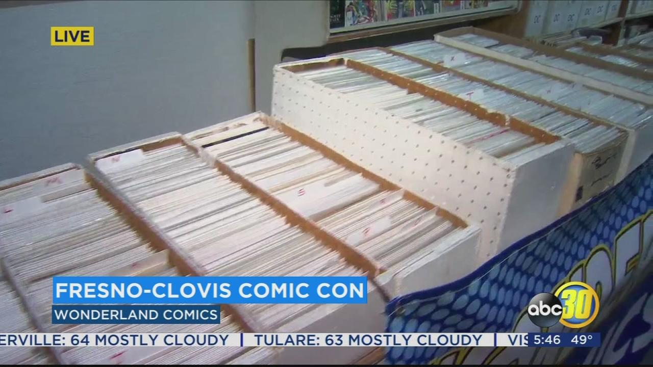 Don your capes and super suits the Fresno-Clovis Comic Con is coming to town
