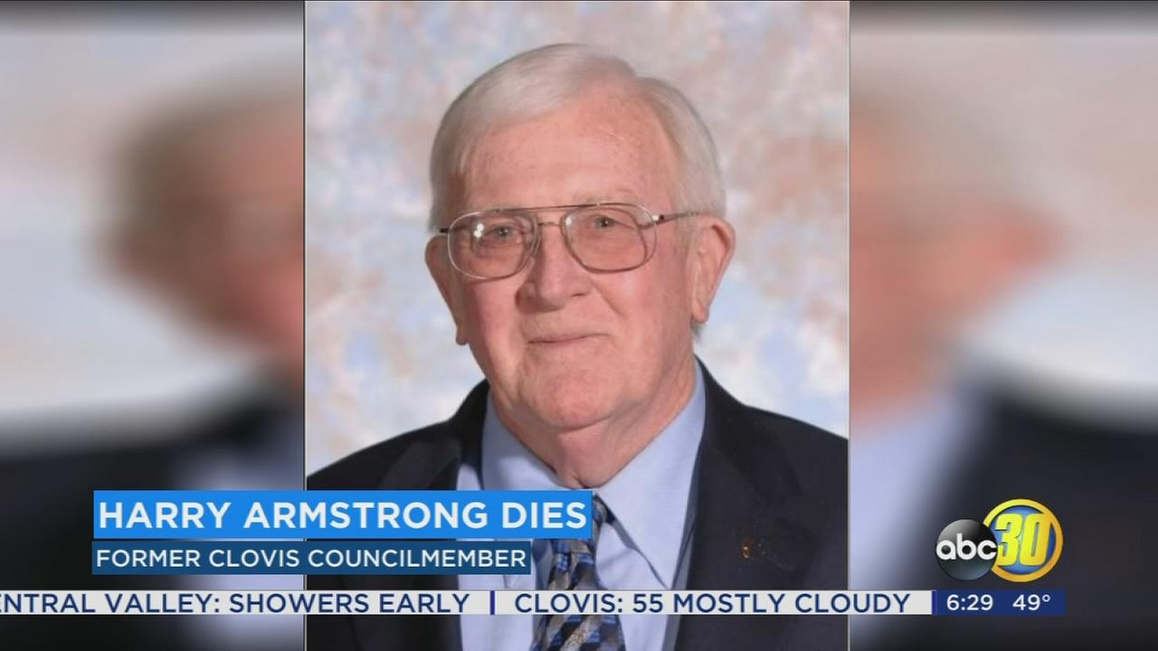 Harry Armstrong, long time Clovis City Councilmember, dies at 87