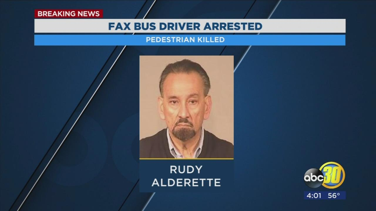 Fresno City bus driver hits and kills pedestrian, police chief says