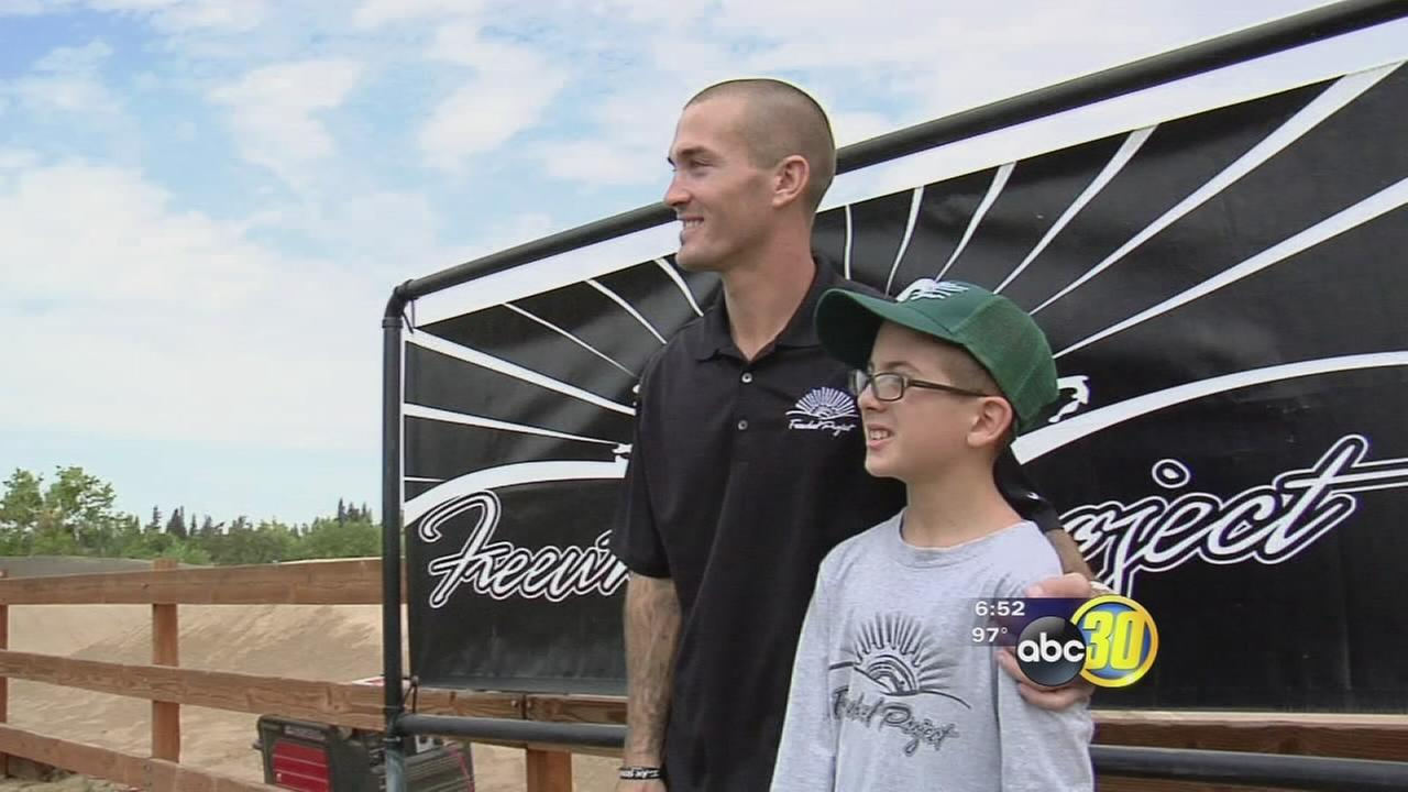 Former drug addict, BMX help kids put brakes on bad behavior