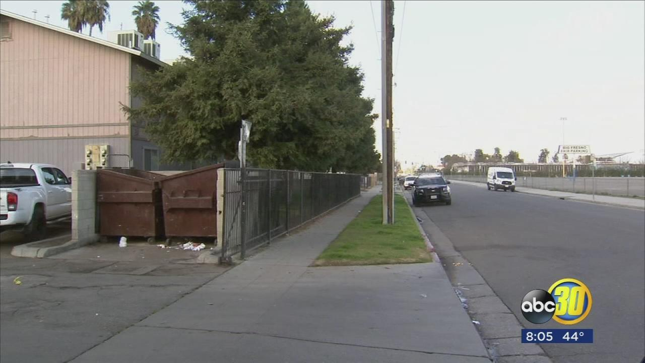Fresno PD search for suspects following drive-by shooting