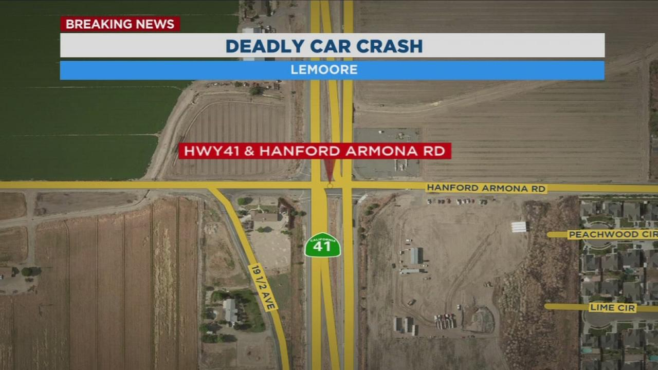 1 dead following fatal crash in Lemoore