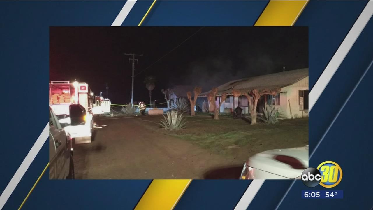 2-alarm house fire destroys at least 1 home in South Valley