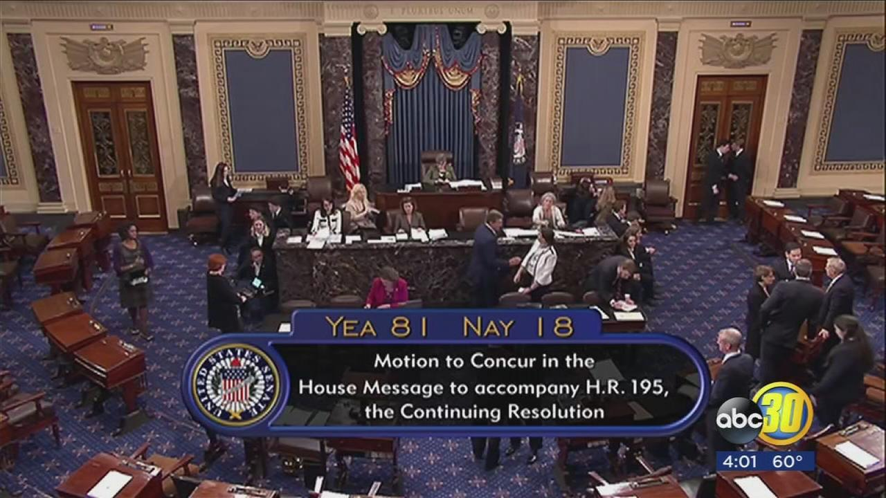 Congress votes to reopen government as House follows Senate in approving bill