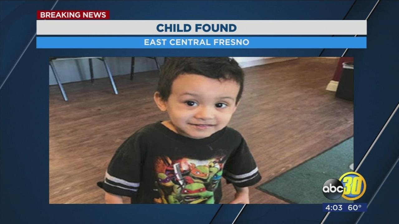Do you know who this boy is? Fresno Police looking for a childs parents