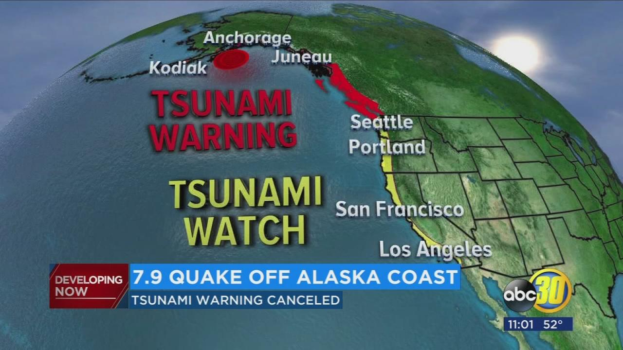 Undersea quake sends Alaskans fleeing from feared tsunami