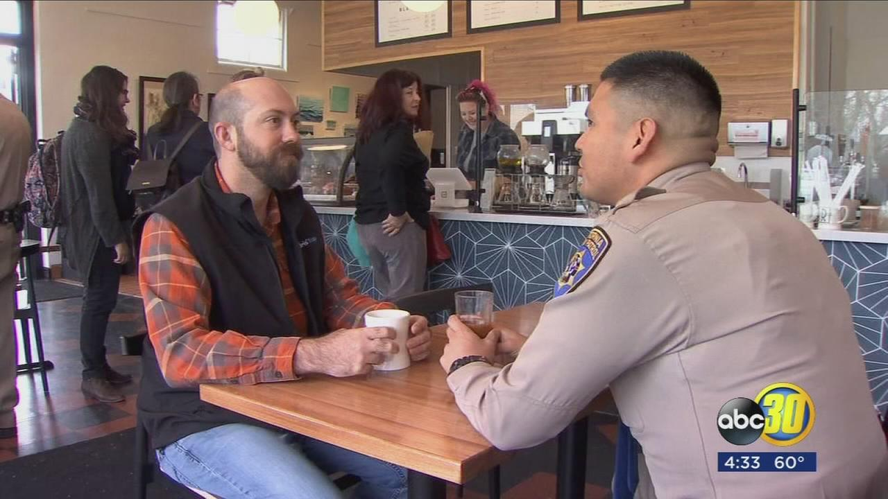 CHP connects with the community over cups of coffee