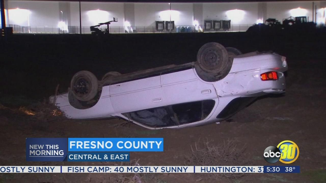 Man arrested after high-speed chase through Fresno County