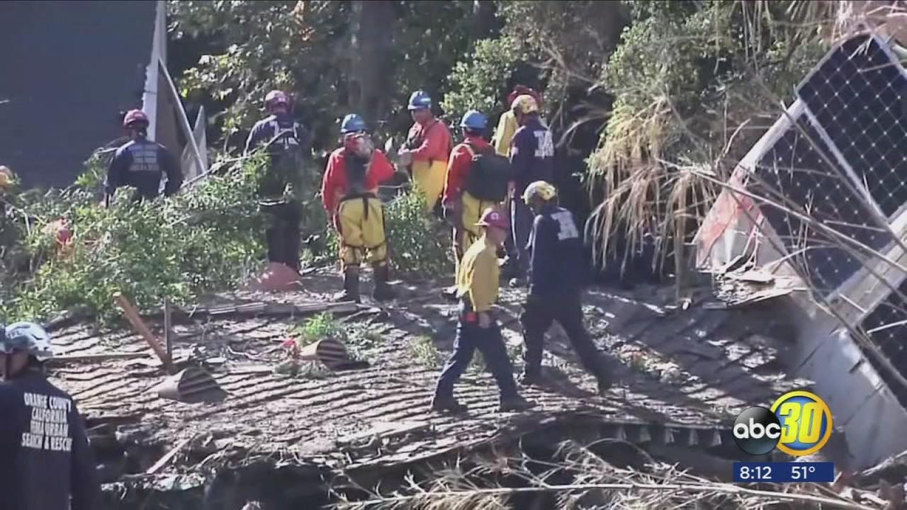 Chilling 911 calls made during Montecito mudslides released