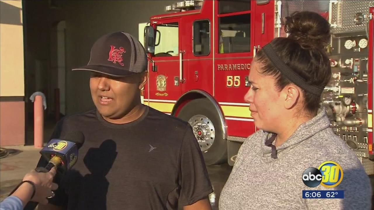 Kings County firefighter battles rare form of cancer