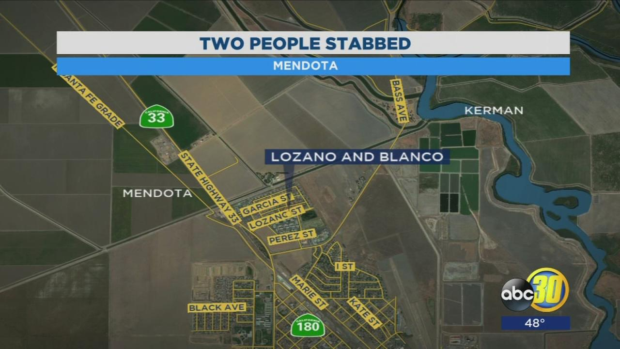 2 teenagers hospitalized after double stabbing in Mendota