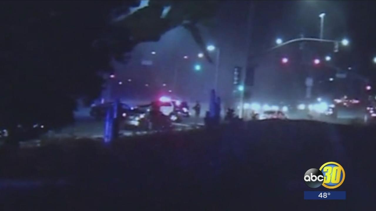 Richmond police officer hit by car while trying to break up sideshow