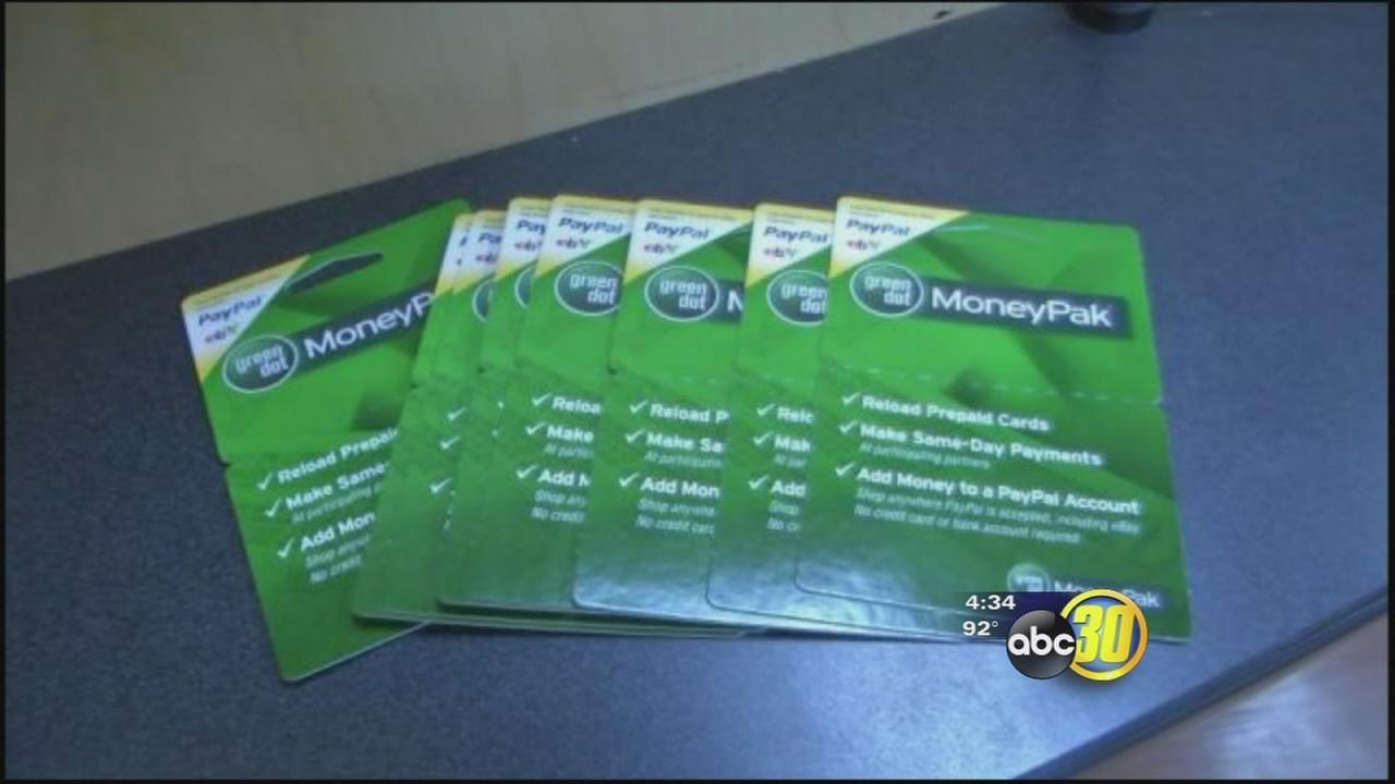 Fresno woman falls victim to scam involving Green Dot MoneyPak Cards