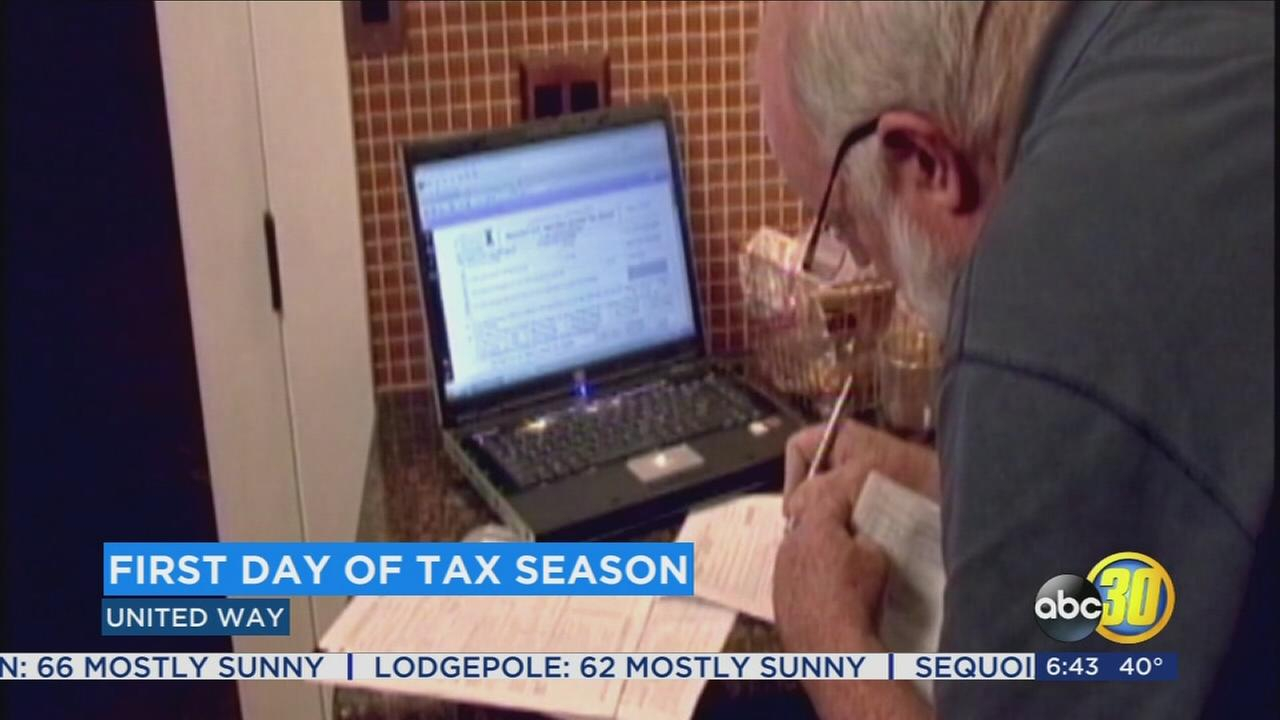 Tax season is here and the United Way is helping Valley residents with filing