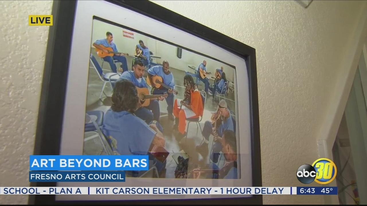 Fresno Arts Council giving Central Valley inmates freedom of expression