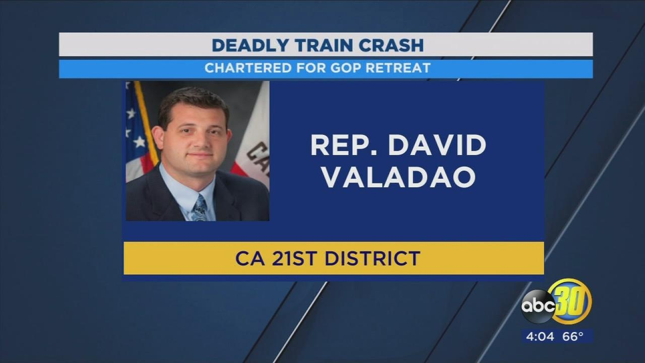 GOP lawmakers Valadao and Nunes unharmed aboard train involved in deadly crash