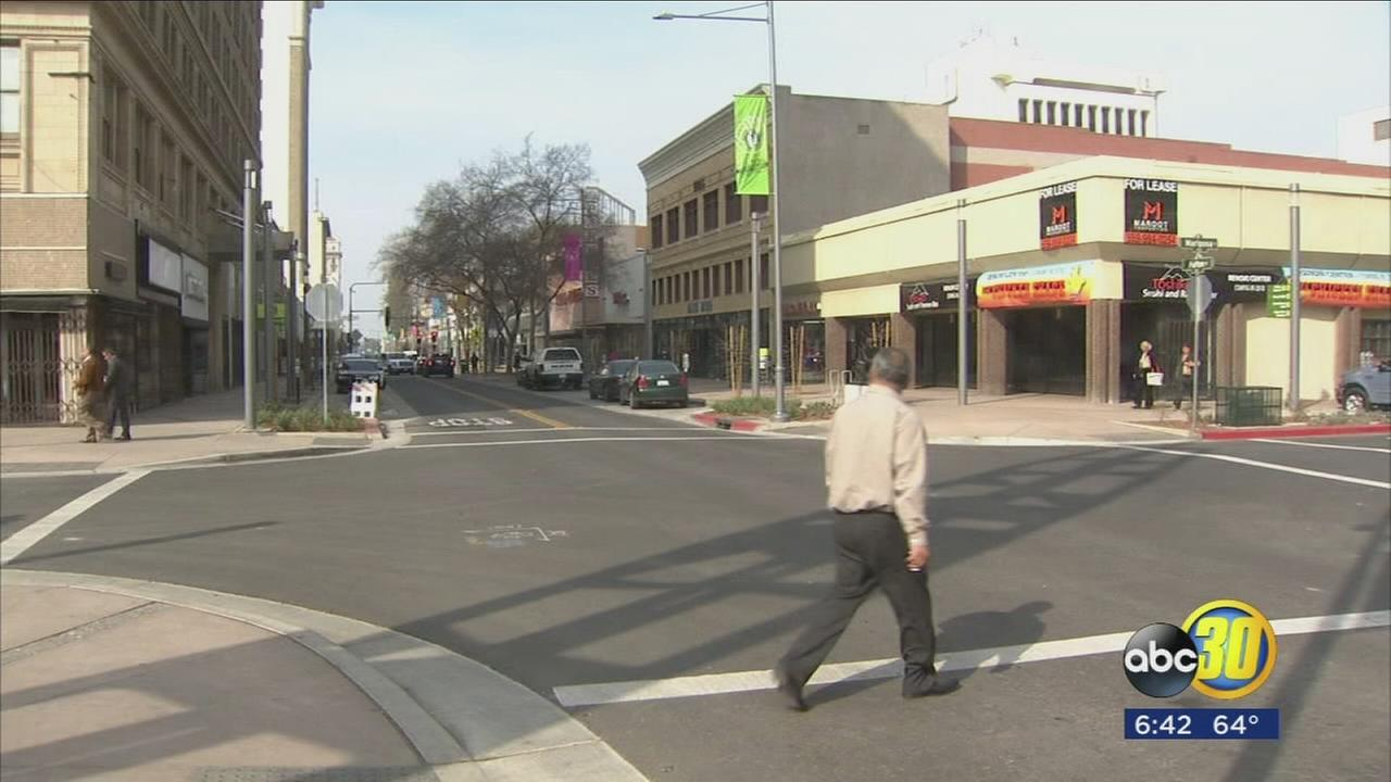 Downtown Fresno renovations taking place