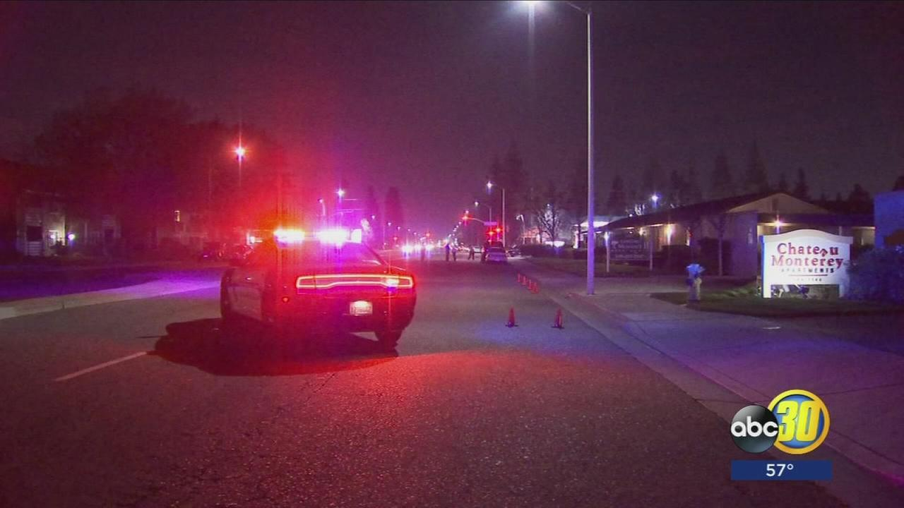 Police investigate vehicle vs pedestrian crash in Clovis