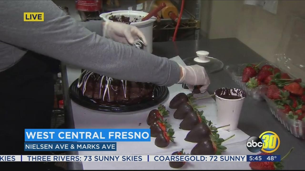 Local organization selling decadent chocolate treats for a good cause