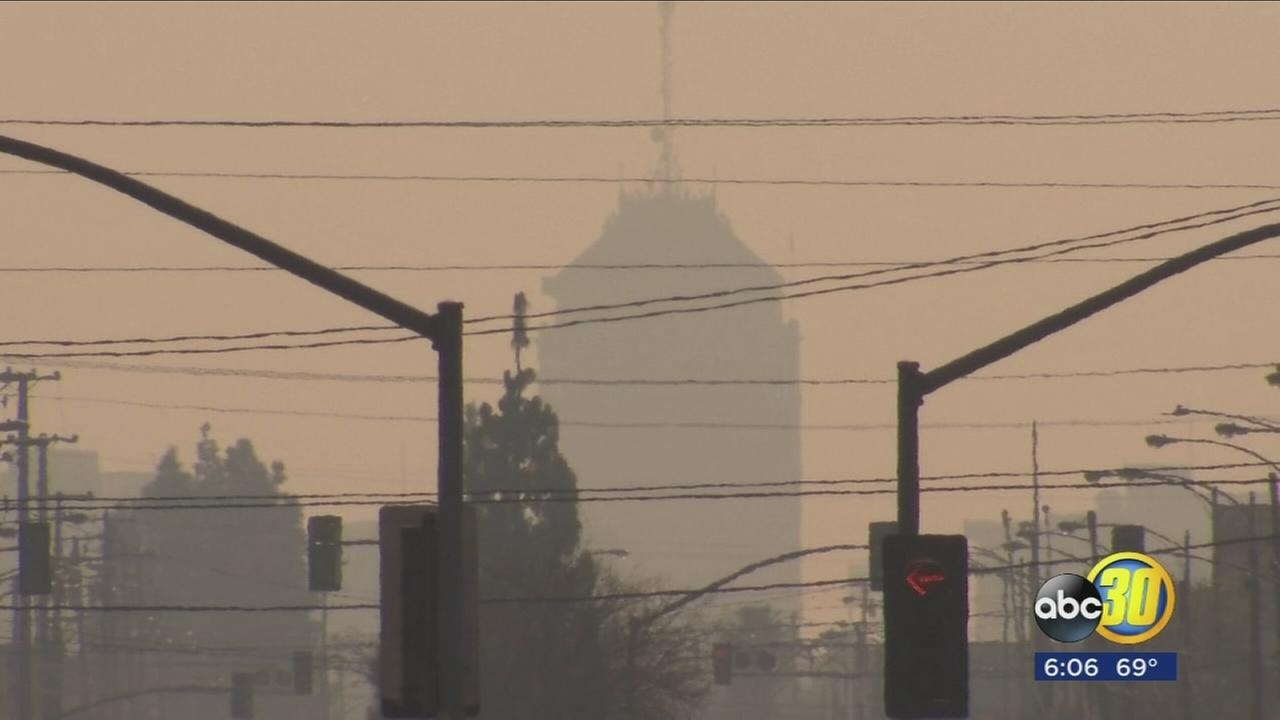 Bad air quality has health experts warning Valley residents