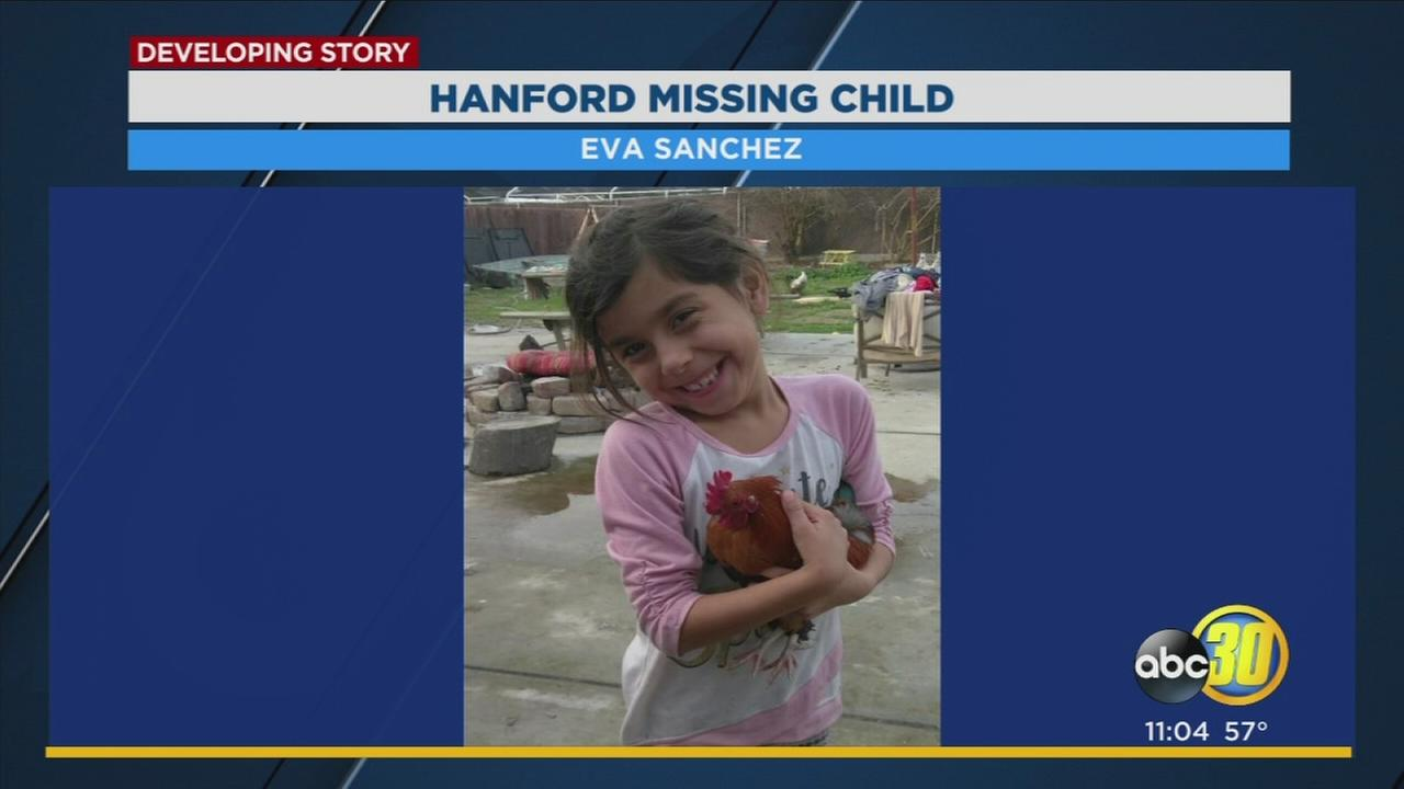 8-year-old Hanford girl reported missing