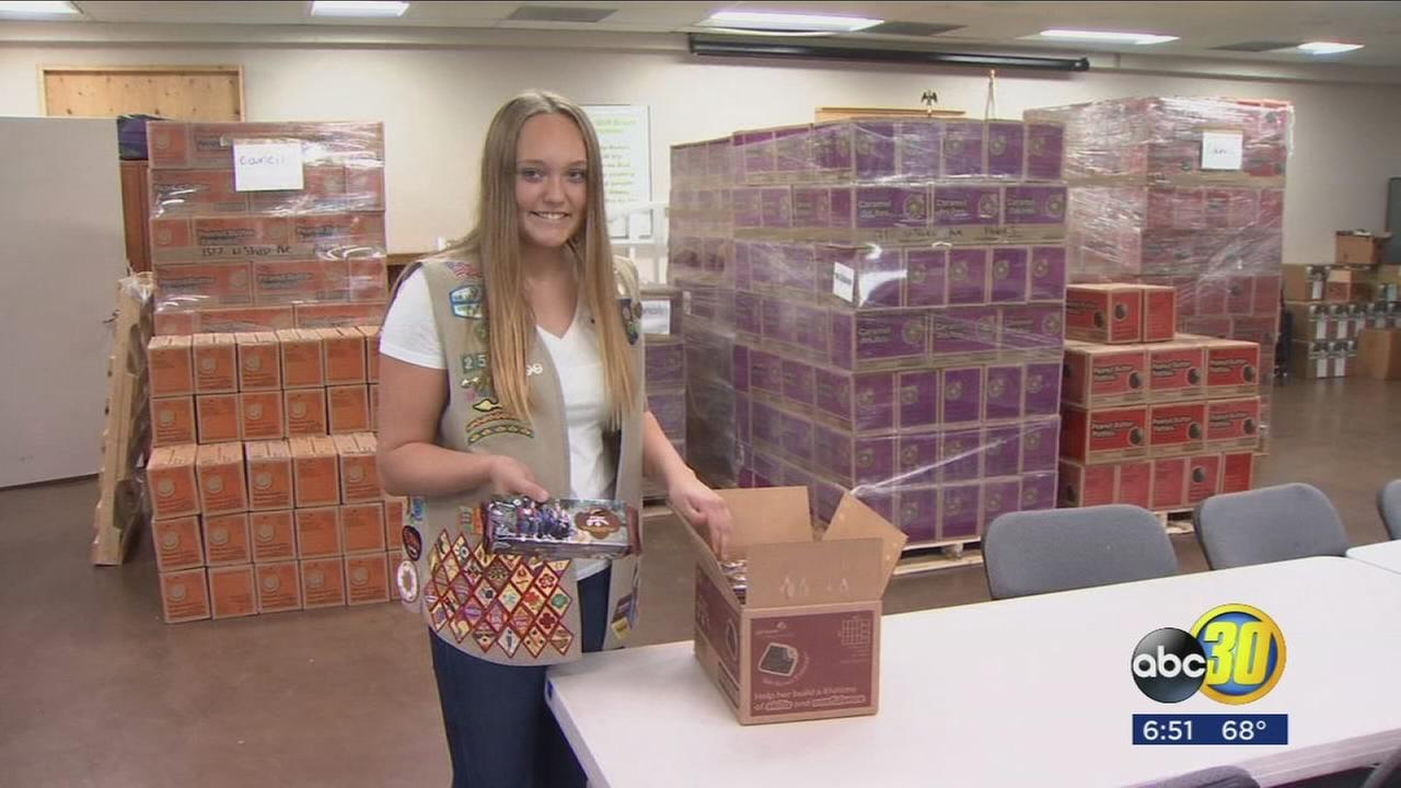 Girl Scout members adopting new business approach to boost sales