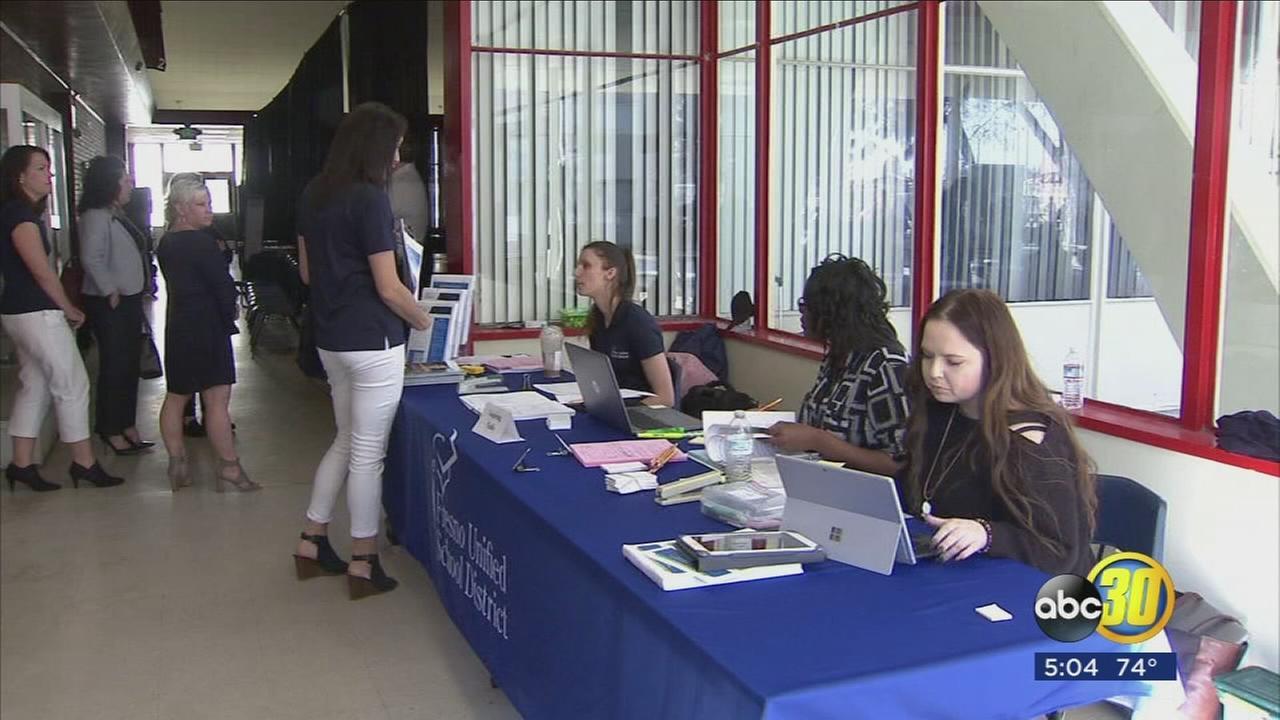 Fresno Unified School District hosting a hiring fair
