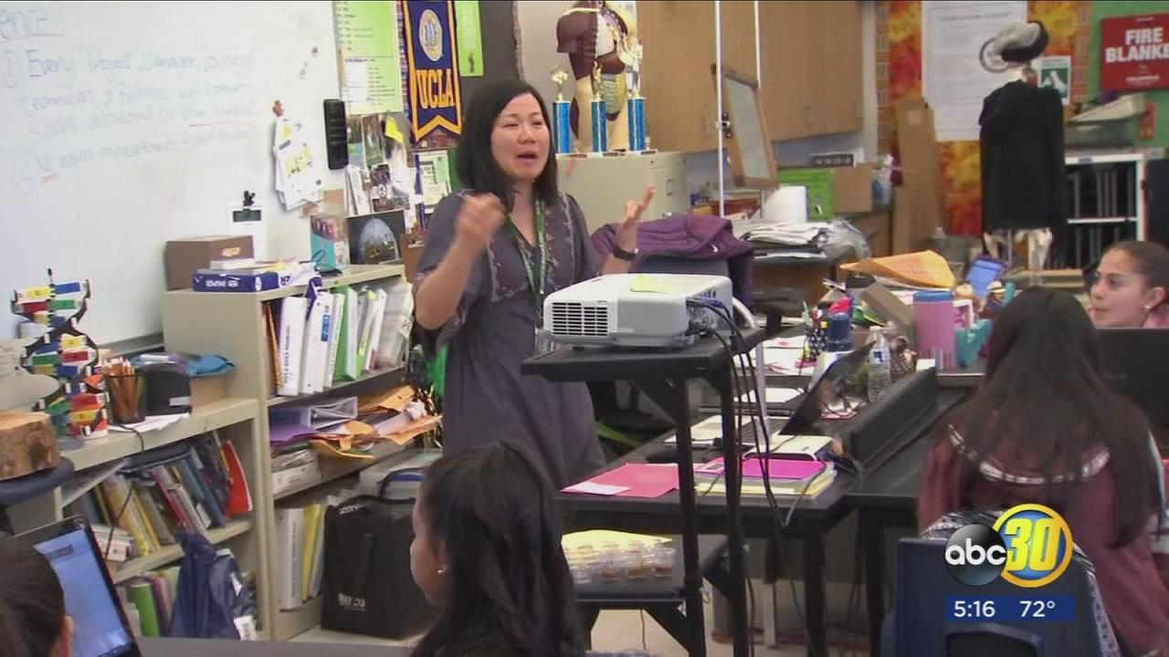 Fresno Unified educator has unique opportunity to share, learn with people around the world