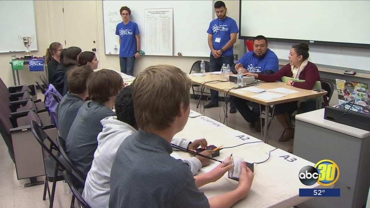 Fresno State hosts Energy National Science Bowl