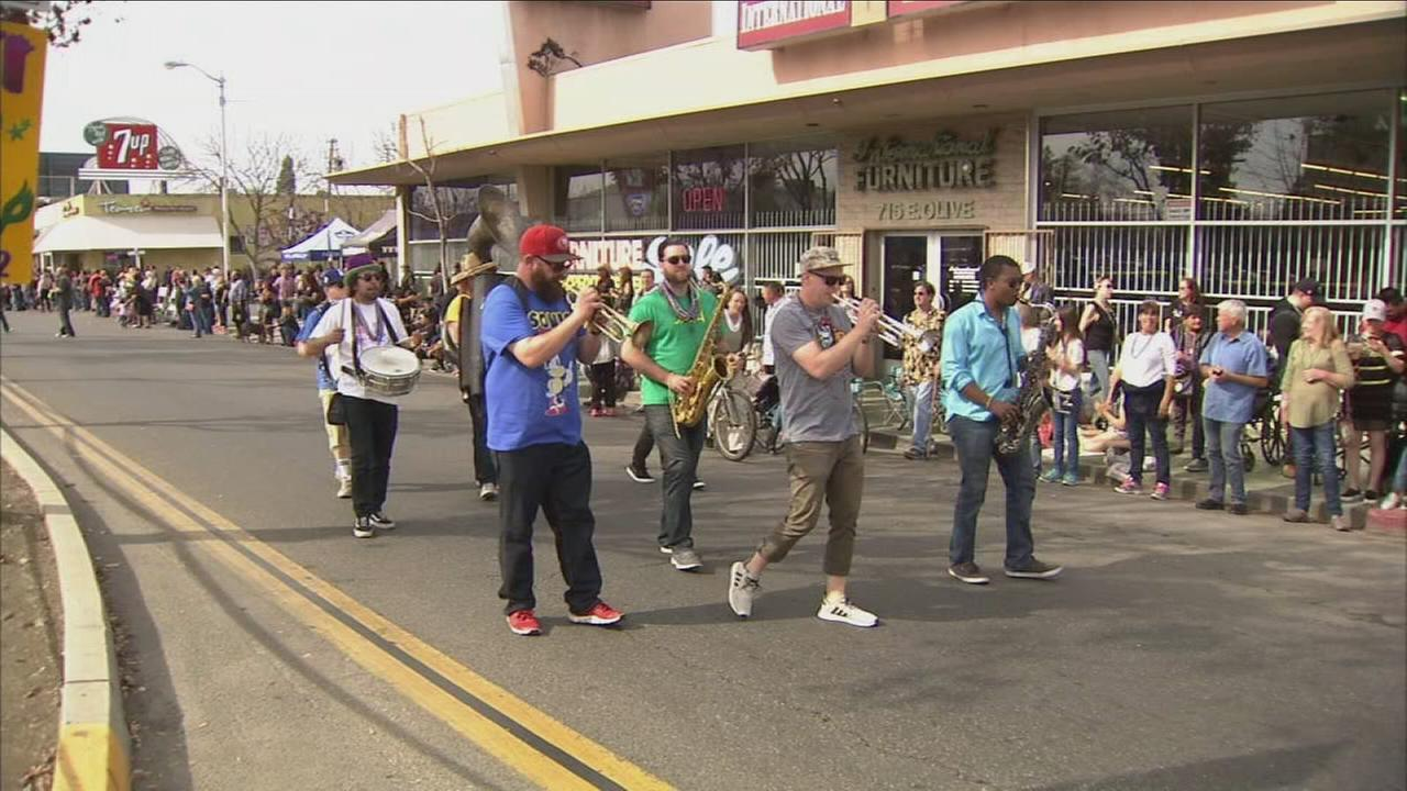 Residents filled streets for 21st annual Mardi Gras parade