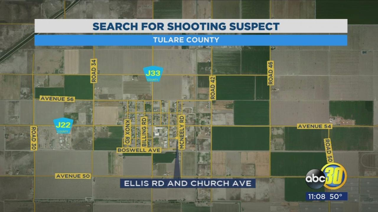 Tulare County Sheriffs Office looking for suspect who open fired on car