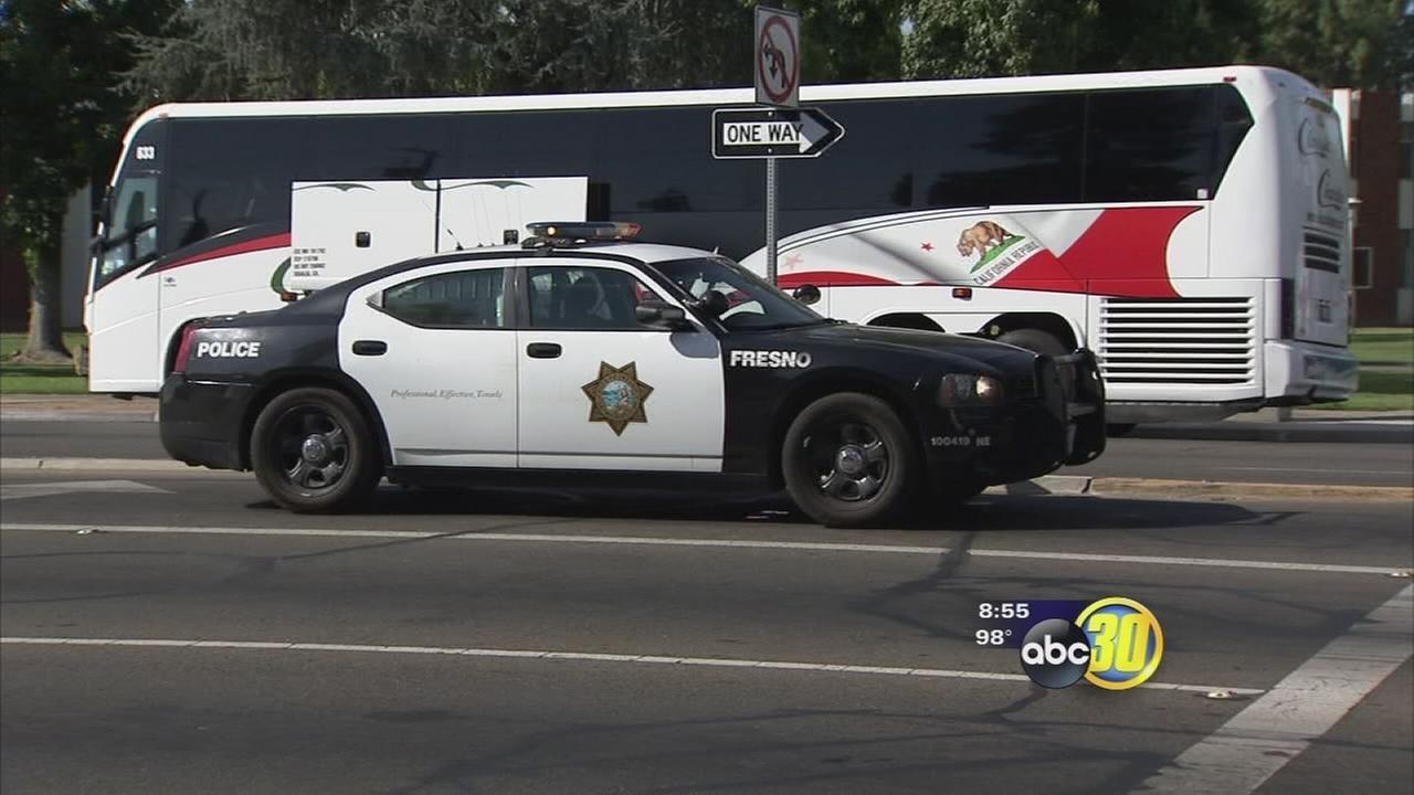 Nebraska media involved in NE Fresno bus crash