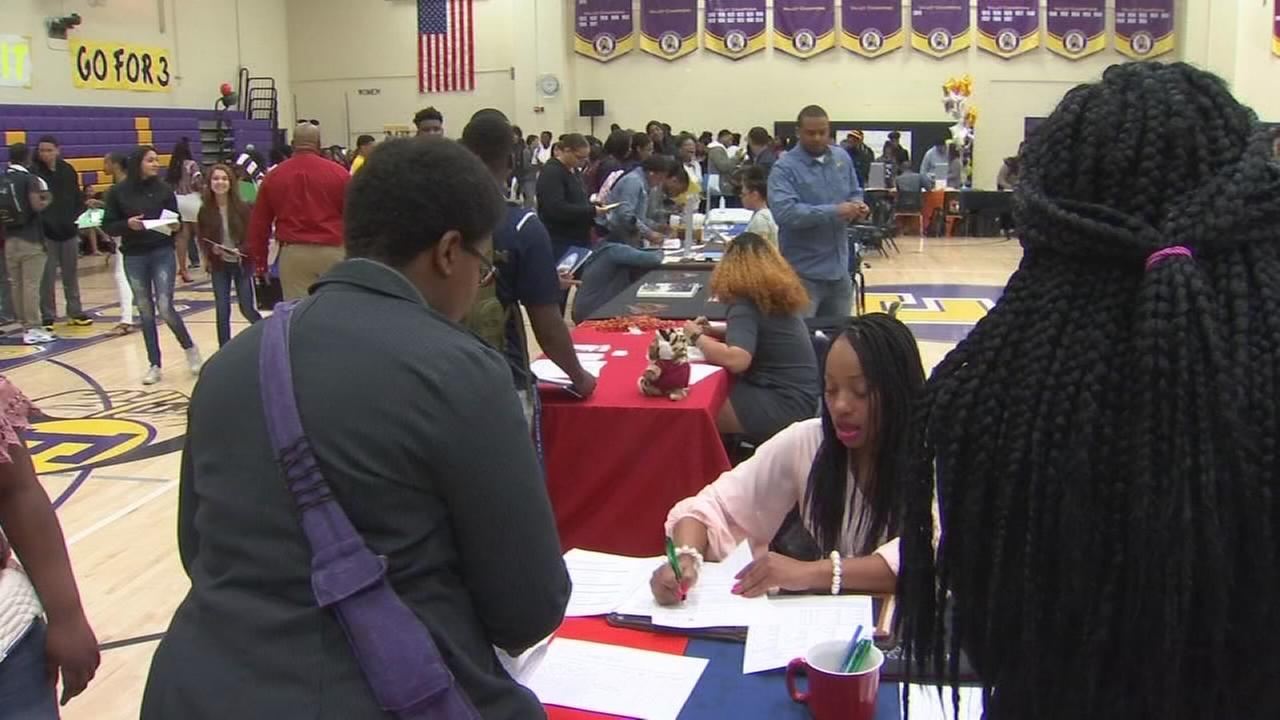 The Black College Expo comes to Fresno high