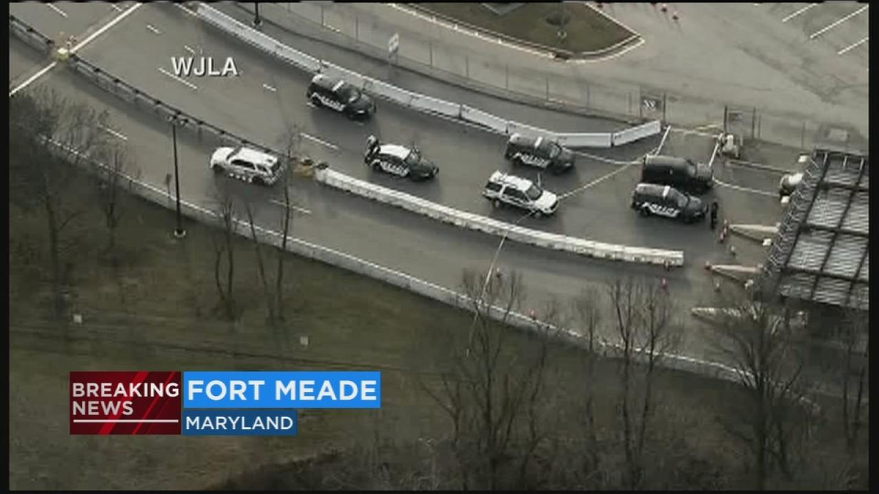 Possible shooting reported near NSA in Fort Meade, police say