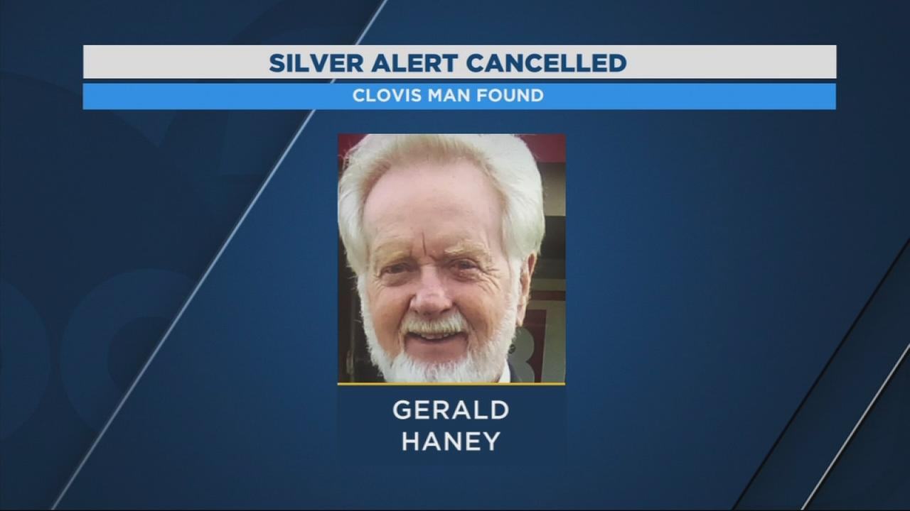 Silver alert canceled after Clovis man found in Watsonville