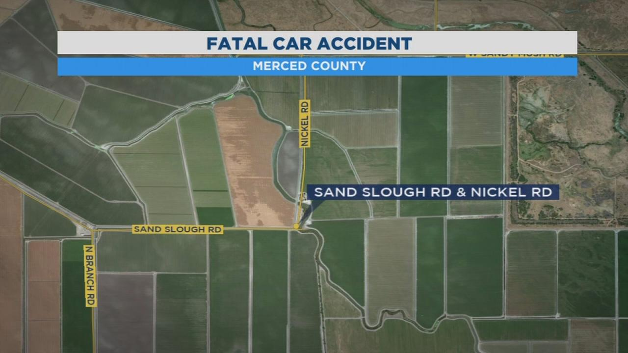 Authorities investigating car crash near Dos Palos that killed 1, injured 3 others