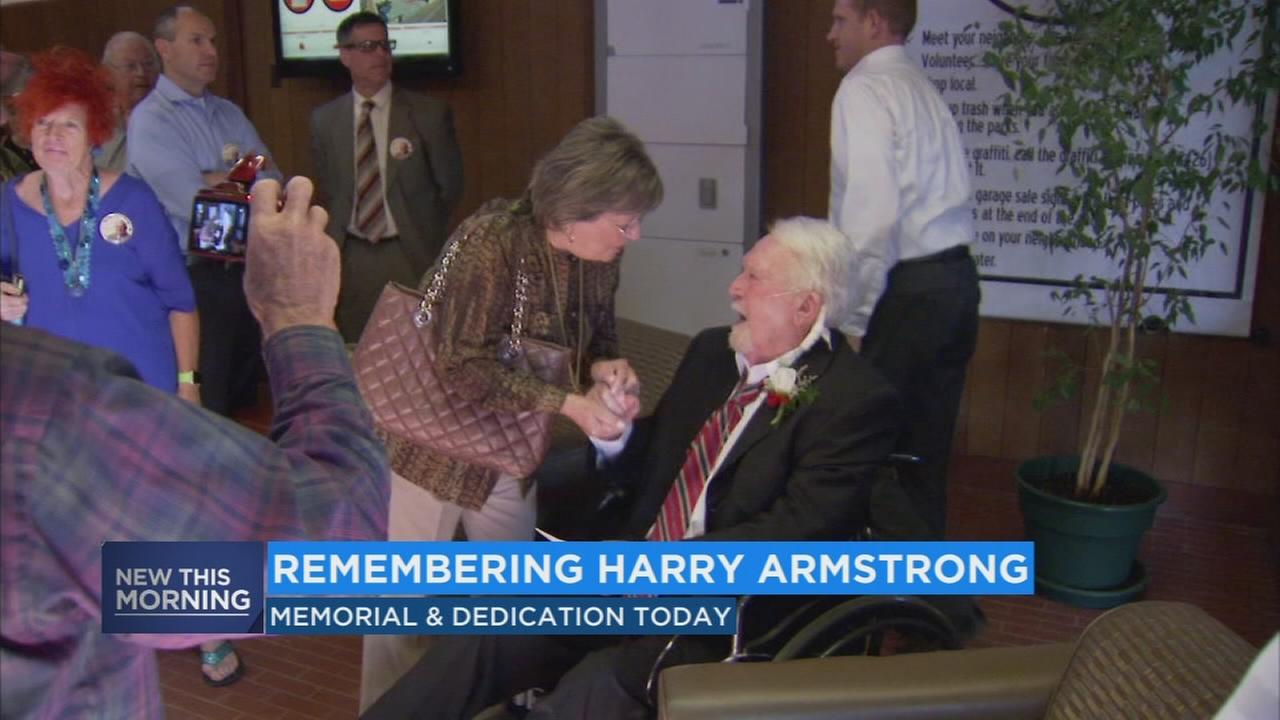 Memorial, highway dedication to be held for long time Clovis City Council Member Harry Armstrong